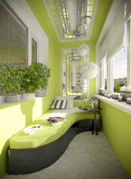 id e pour am nager une loggia des id es. Black Bedroom Furniture Sets. Home Design Ideas