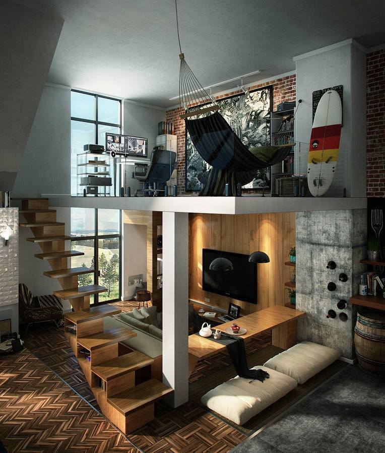 Beautiful Idee Amenagement Mezzanine Photos - House Design ...
