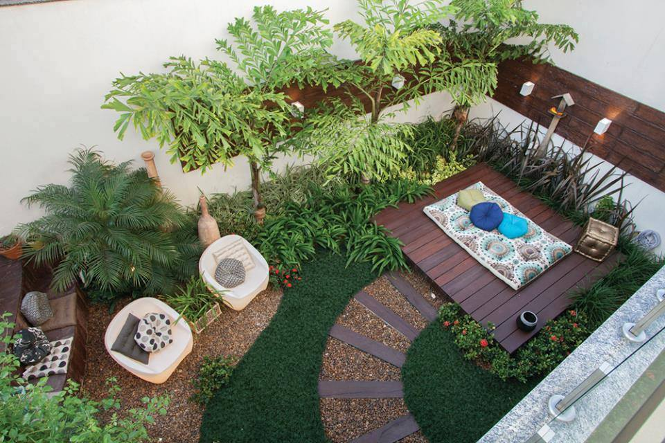Id e d 39 am nagement pour petit jardin for Decoracion jardines pequenos frente casa