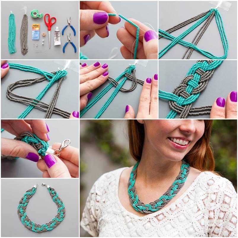 Fabriquer un collier avec des perles - Des idées