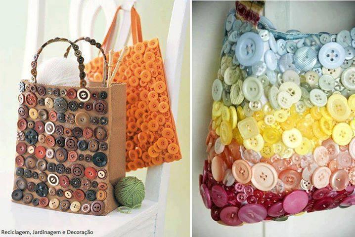 Sehr Customiser un sac avec des boutons - Des idées LW04