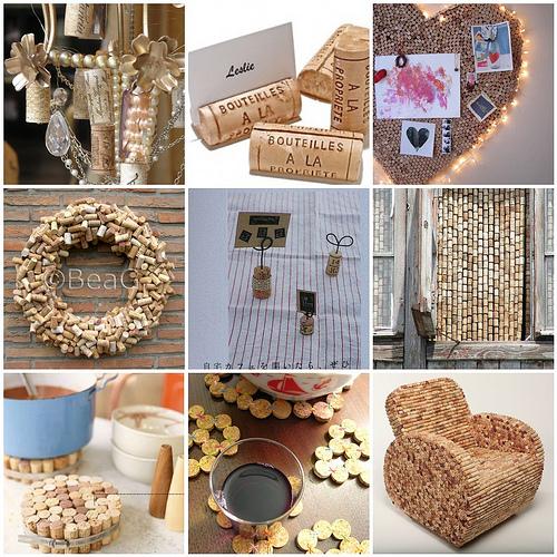 9 id es d 39 objets fabriquer partir de bouchons de li ge for Chambre a theme liege