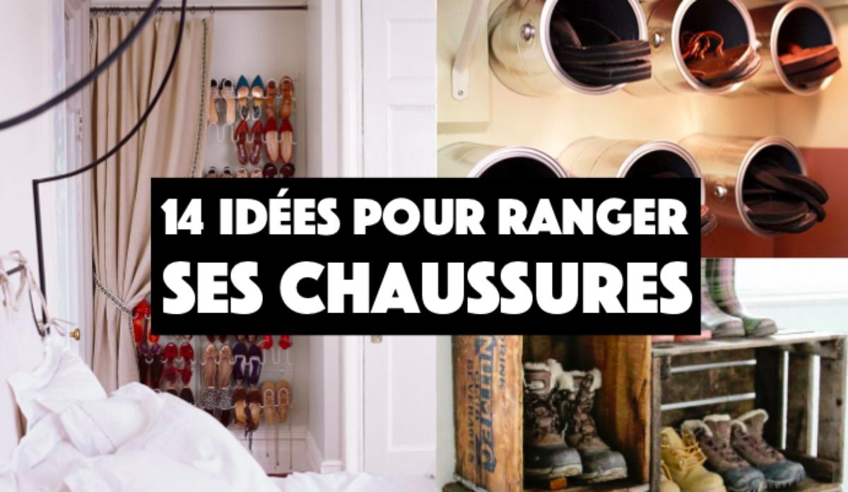 Comment Ranger Ses Chaussures 14 id�es originales pour ranger vos chaussures