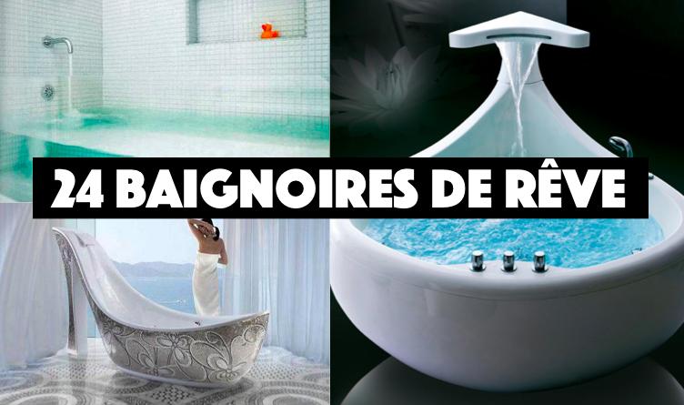 24 baignoires qui vont vous faire r ver suite des id es. Black Bedroom Furniture Sets. Home Design Ideas