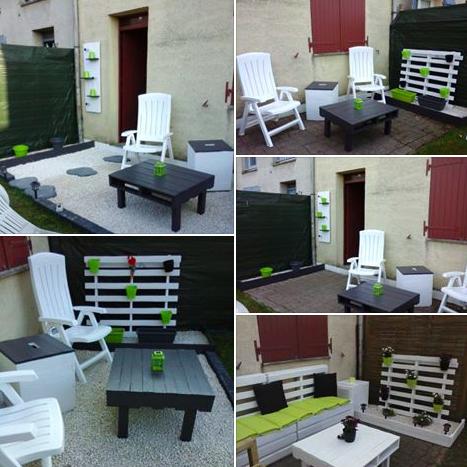 Idée de terrasse faite à la main   des idées