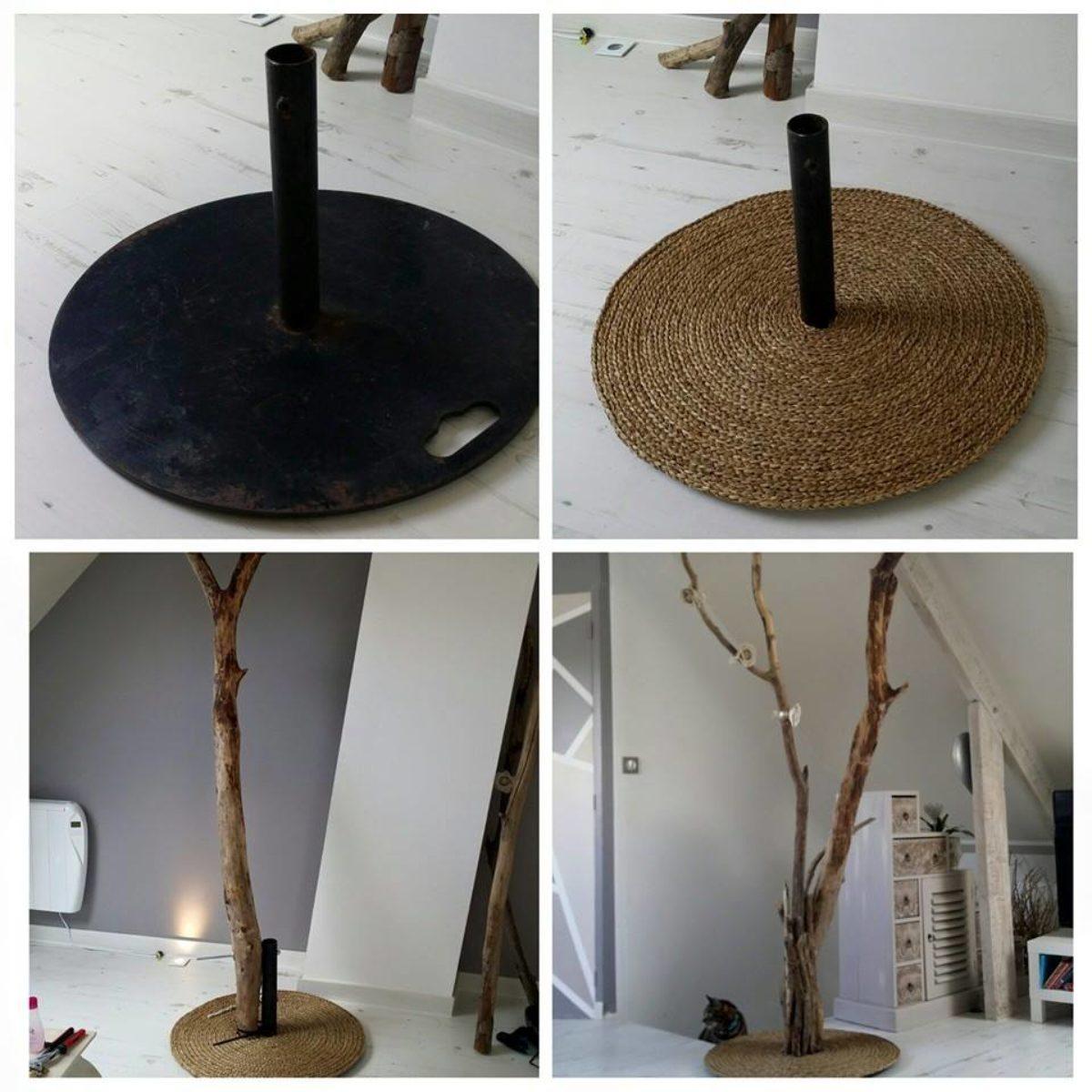 Que Faire Avec Bois Flotté fabriquer un lampadaire en bois flotté pour le salon