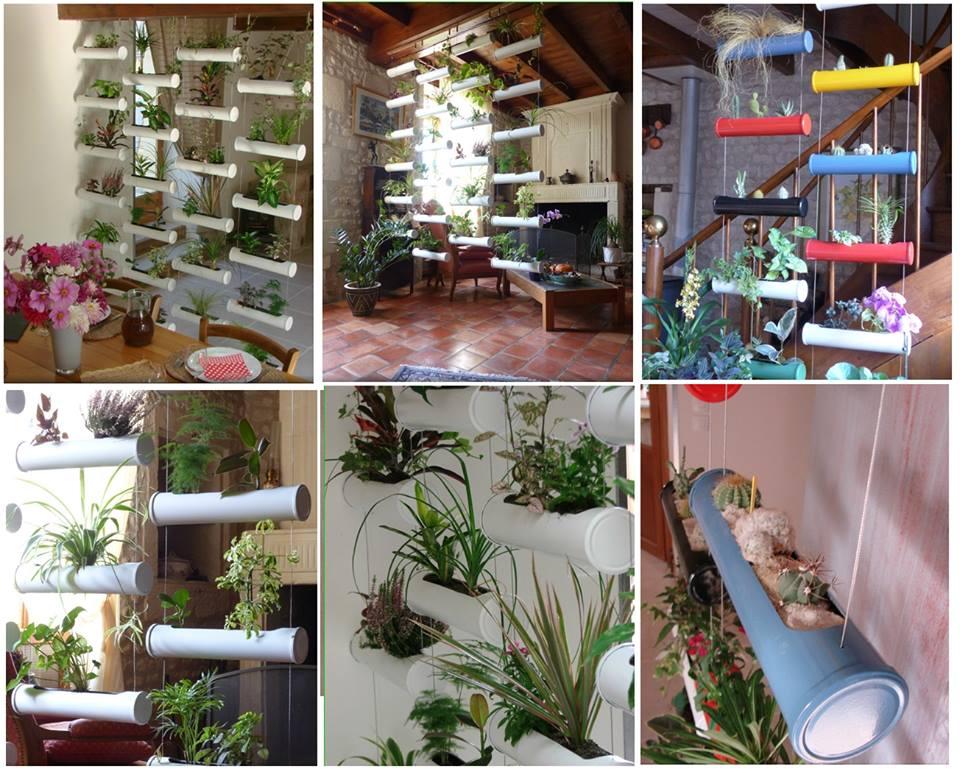 Fabriquer un rideau v g tal pour faire une s paration ou - Decoration de jardin a fabriquer ...