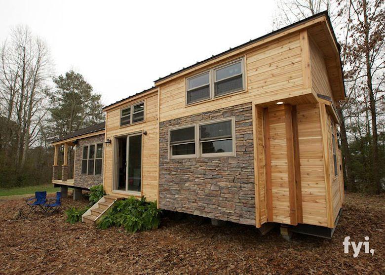 voici une micro maison qui pourrait bien vous faire envie des id es. Black Bedroom Furniture Sets. Home Design Ideas