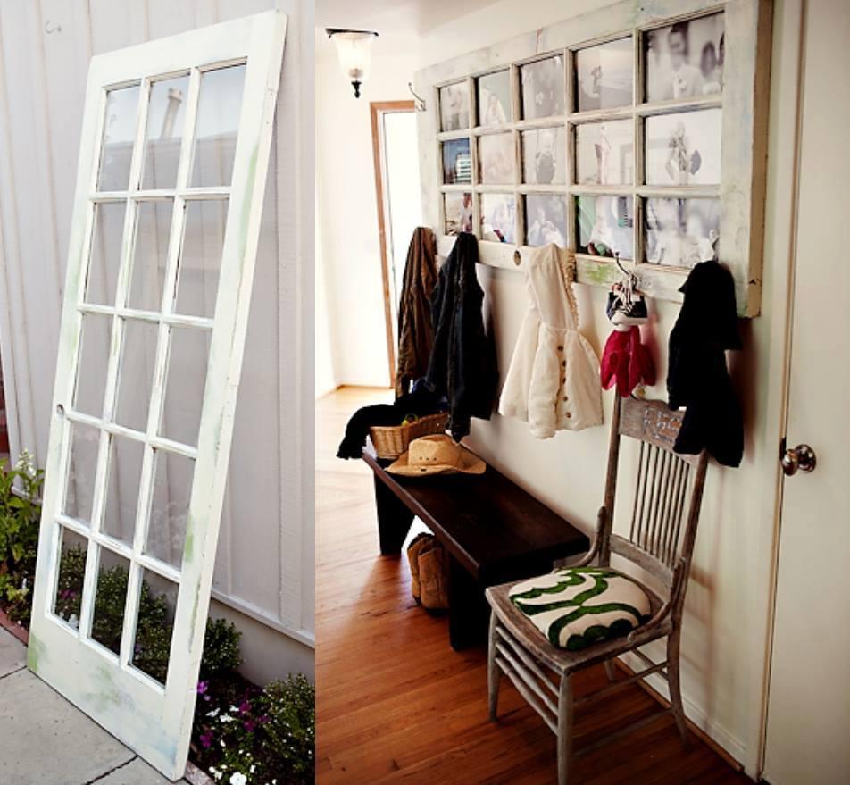 transformez une vieille porte en porte manteaux photographique des id es. Black Bedroom Furniture Sets. Home Design Ideas
