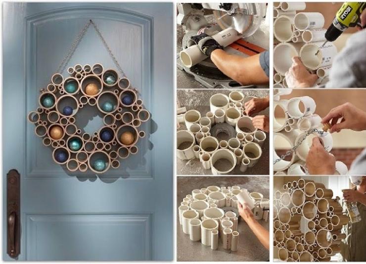 Bekannt 16 idées géniales pour recycler des tubes de PVC en objets du  PF39