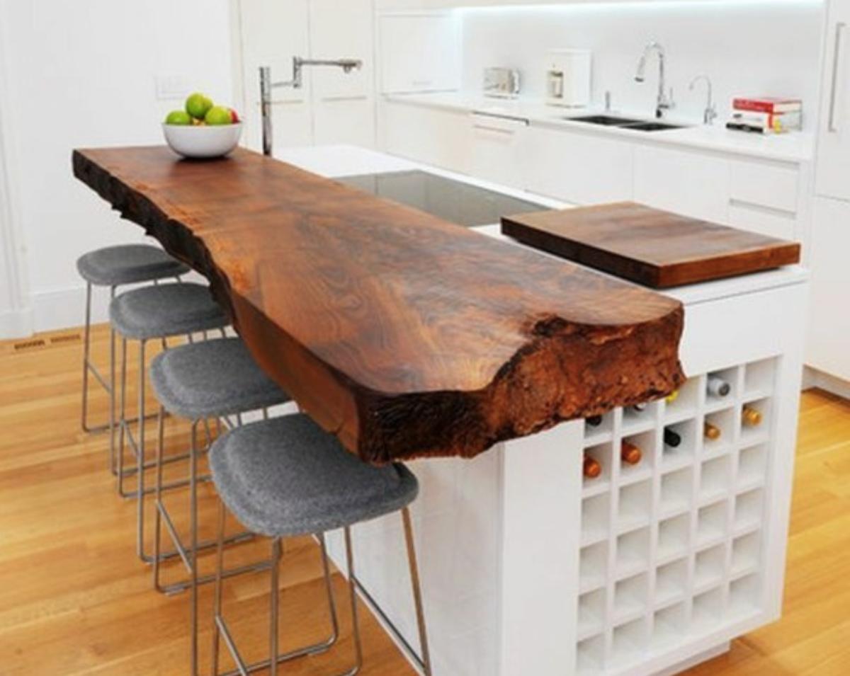 12 idées de comptoir en bois