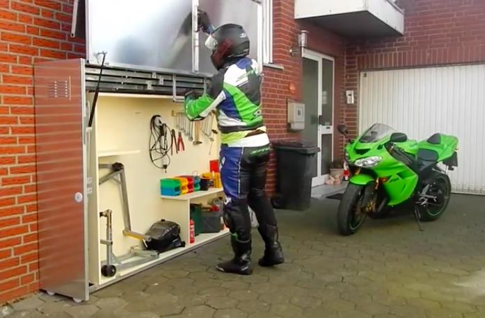 Construire Un Garage Moto T 233 L 233 Scopique En M 233 Tal Des Id 233 Es