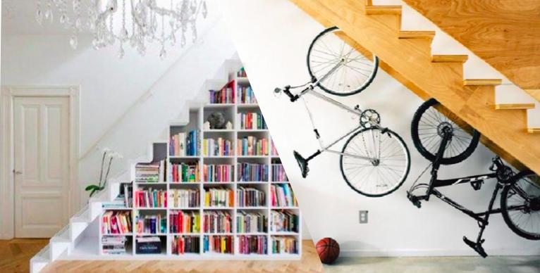 10 id es pour am nager l 39 espace sous un escalier des id es. Black Bedroom Furniture Sets. Home Design Ideas