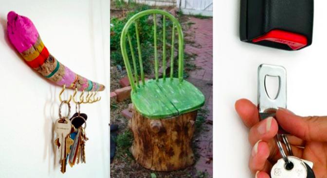 10 id es de recyclage facile des id es. Black Bedroom Furniture Sets. Home Design Ideas