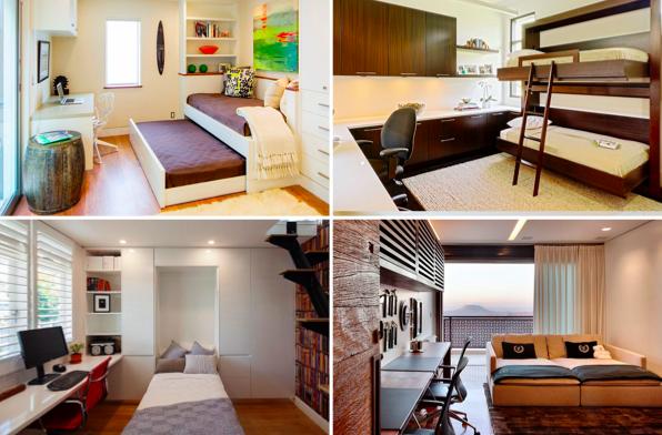 Aménagement Bureau À Domicile et si votre bureau à domicile se transformait en chambre d'amis ?