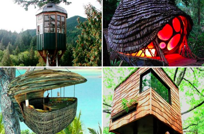 20 des plus belles id es de cabanes dans les arbres pour. Black Bedroom Furniture Sets. Home Design Ideas