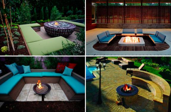 30 inspirations pour votre espace de vie ext rieur autour d 39 un bon feu des id es. Black Bedroom Furniture Sets. Home Design Ideas