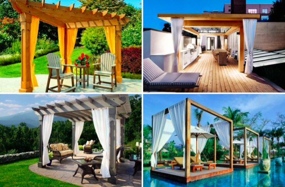 15 nouvelles id es de pergola intime pour tre au calme des id es. Black Bedroom Furniture Sets. Home Design Ideas