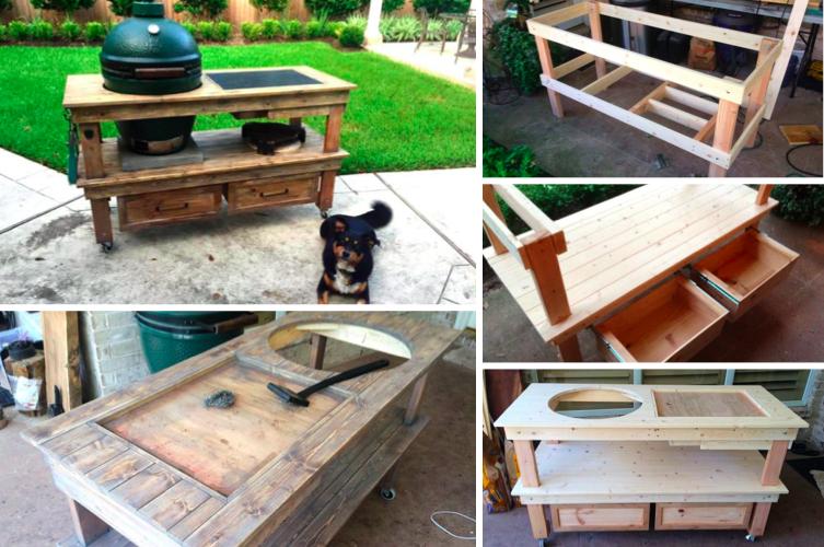 Fabriquer une superbe station de barbecue - Des idées