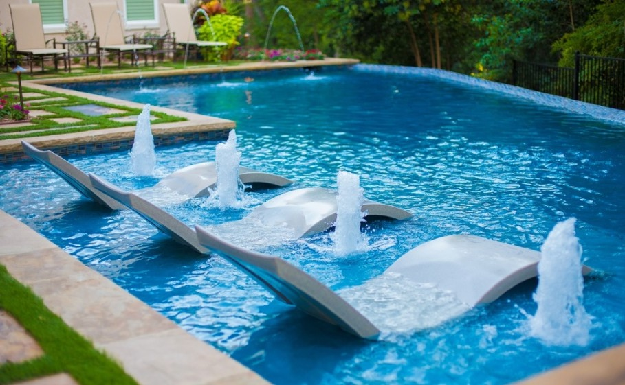 10 piscines luxueuses qui vont blouir votre espace ext rieur - Houses in england with swimming pools ...