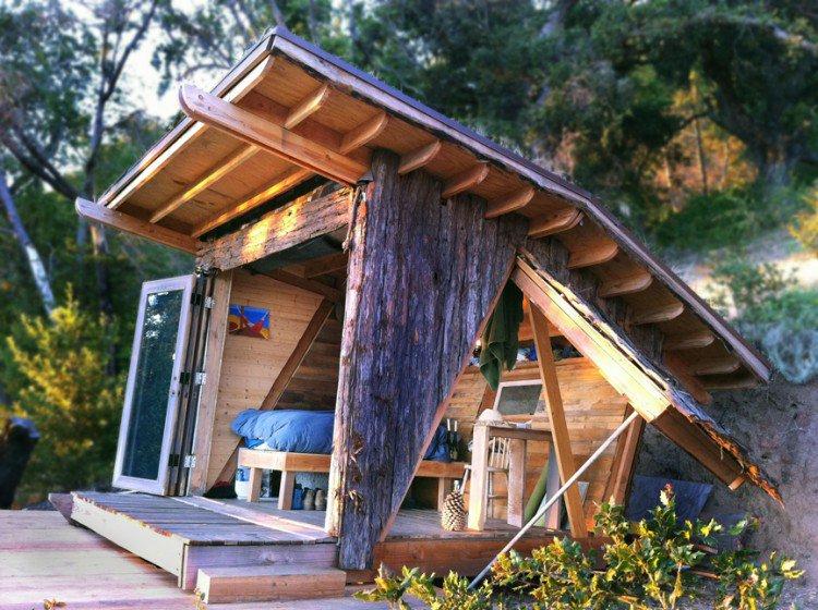 Modernes et fonctionnelles voici les plus belles id es de for Cabane en bois moderne