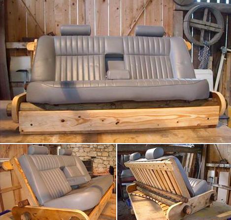Fabriquer un canapé avec des objets recyclés Des idées