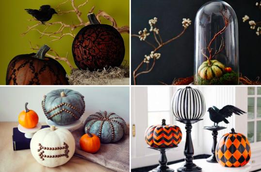 15 idées pour offrir à vos citrouilles d'Halloween une décoration ...