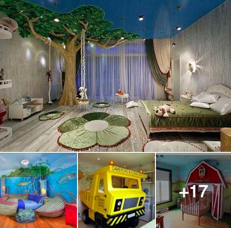 20 chambres qui vont faire r ver tous les enfants des id es - Rever de faire une fausse couche ...