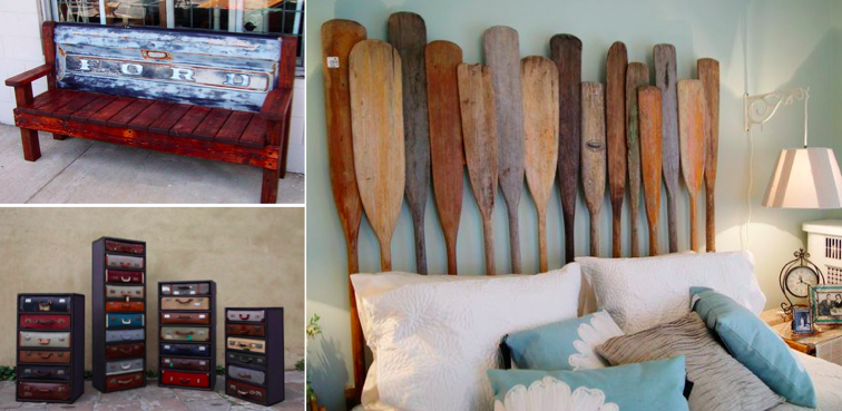 les meubles les plus beaux et originaux faits partir de mat riaux de r cup ration des id es. Black Bedroom Furniture Sets. Home Design Ideas
