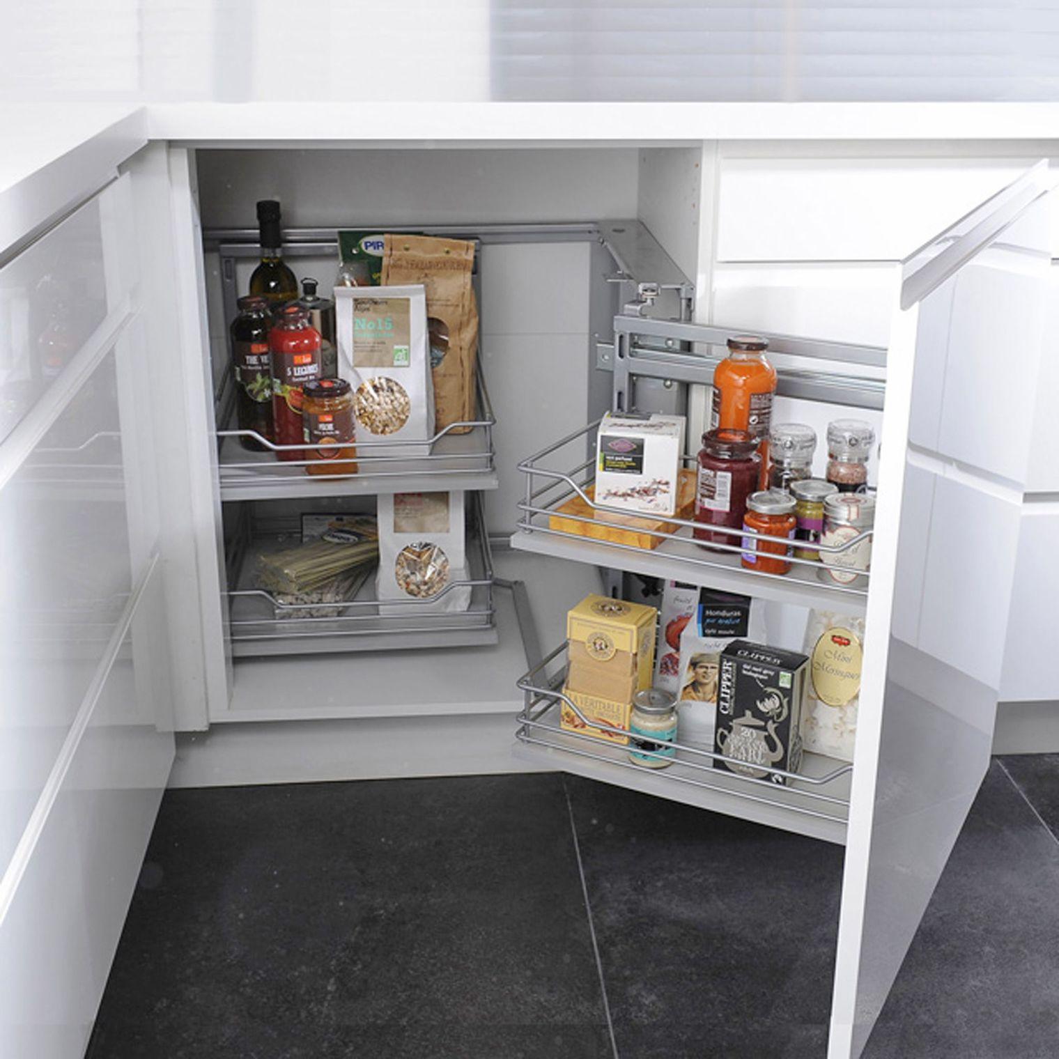 26 id es pour optimiser votre espace de rangement page 4 - Petite cuisine d angle ...
