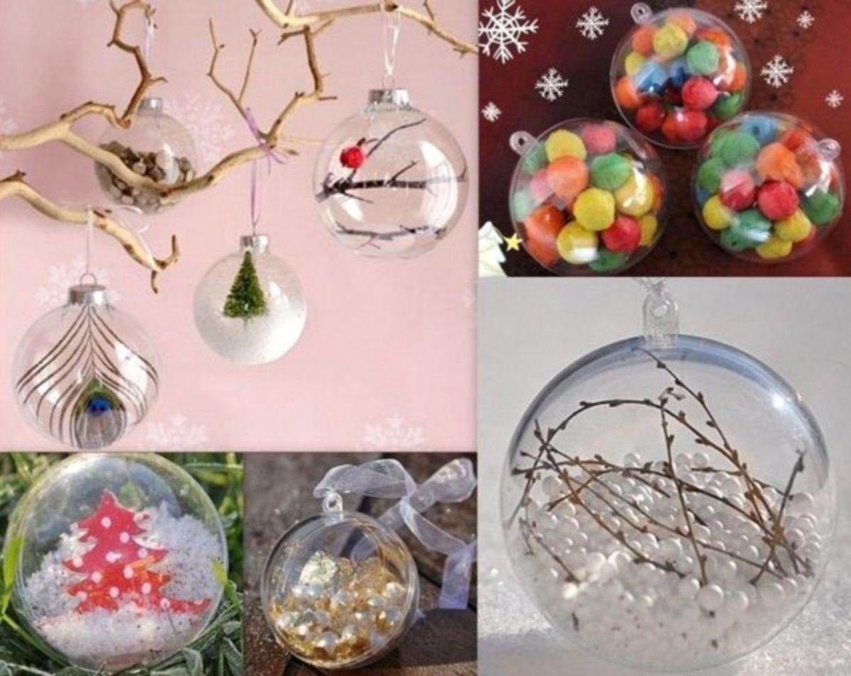 Idee Deco Boule Plastique Transparente Noel réalisez des boules de noël 100% maison