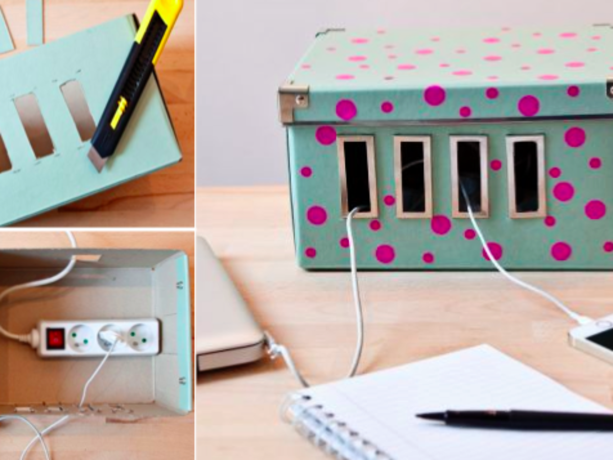 Tuto : construisez une jolie boîte pour cacher vos câbles
