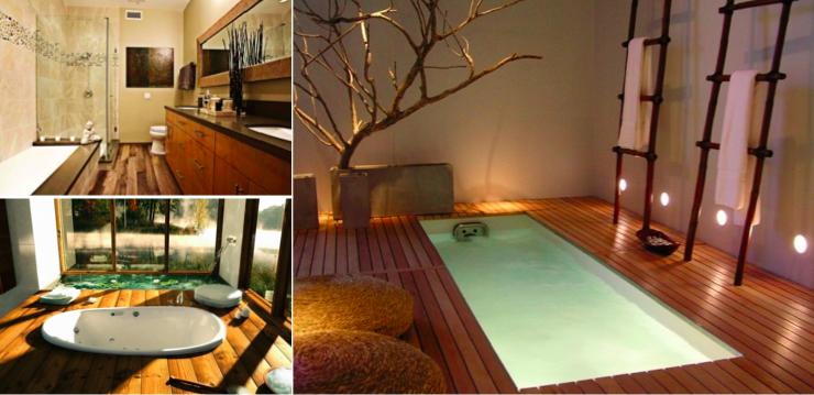 Les 15 Plus Belles Salles De Bain Boisées, Pour Plus De Chaleur Et De  Confort   Des Idées