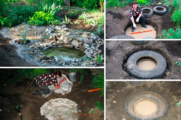 Cr ez facilement un petit bassin pour votre jardin le coin d tente - Deco bassin de jardin ...
