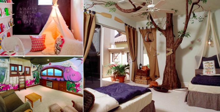 80 chambres d enfants magnifiques qui allient confort et espace. Black Bedroom Furniture Sets. Home Design Ideas