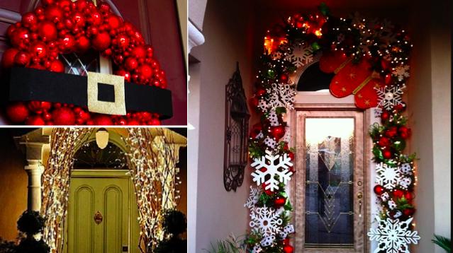 Decoration Porte De Noel