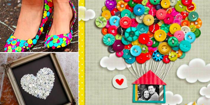 22 idées très créatives avec des boutons