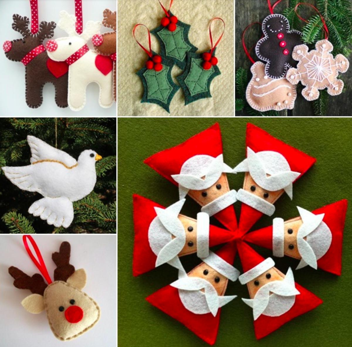 Fabriquer Deco Noel En Feutrine terminez votre sapin avec ces 9 décorations à faire en