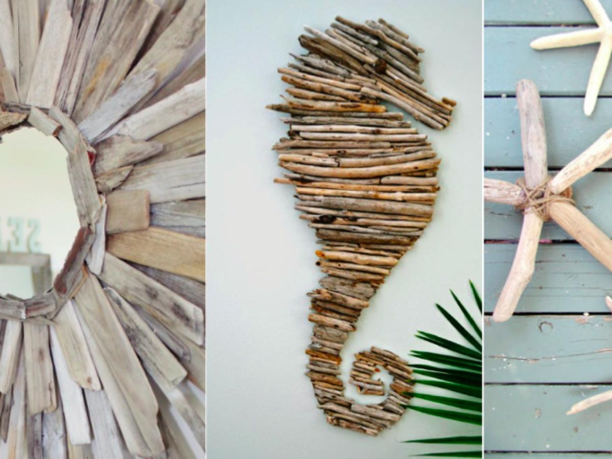 Que Faire Avec Bois Flotté 16 idées déco en bois flotté