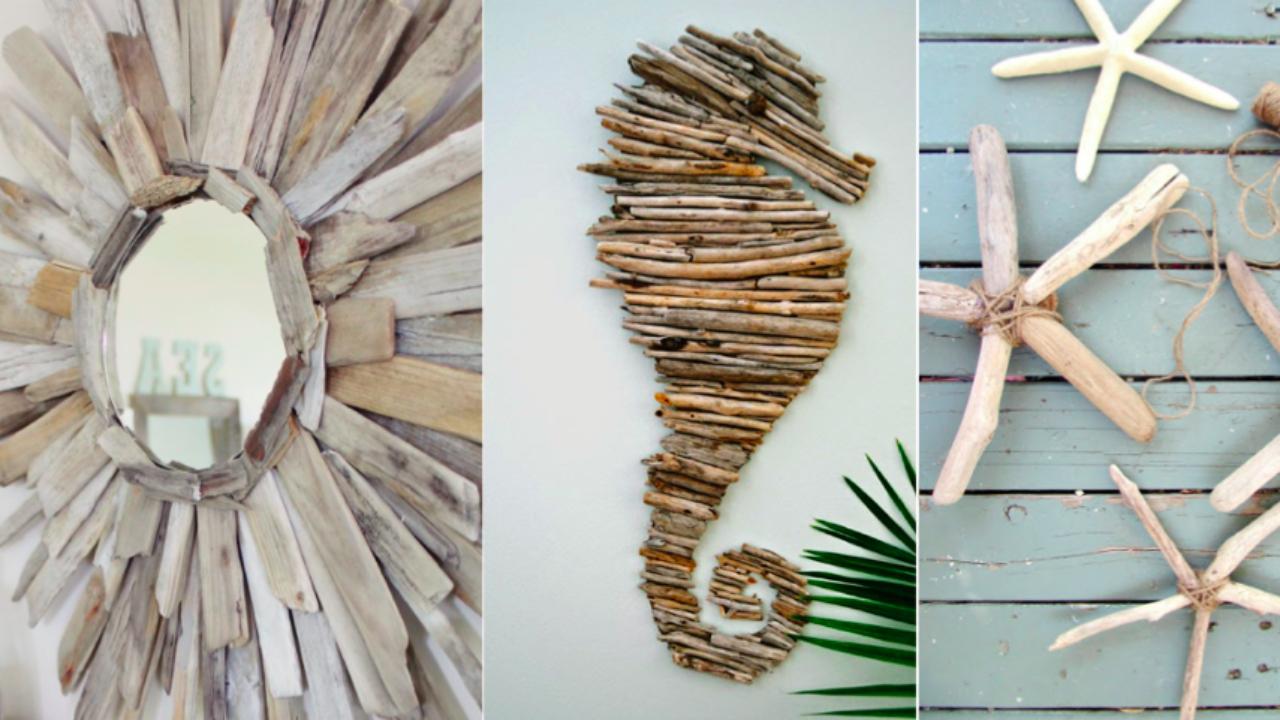 16 idées déco en bois flotté