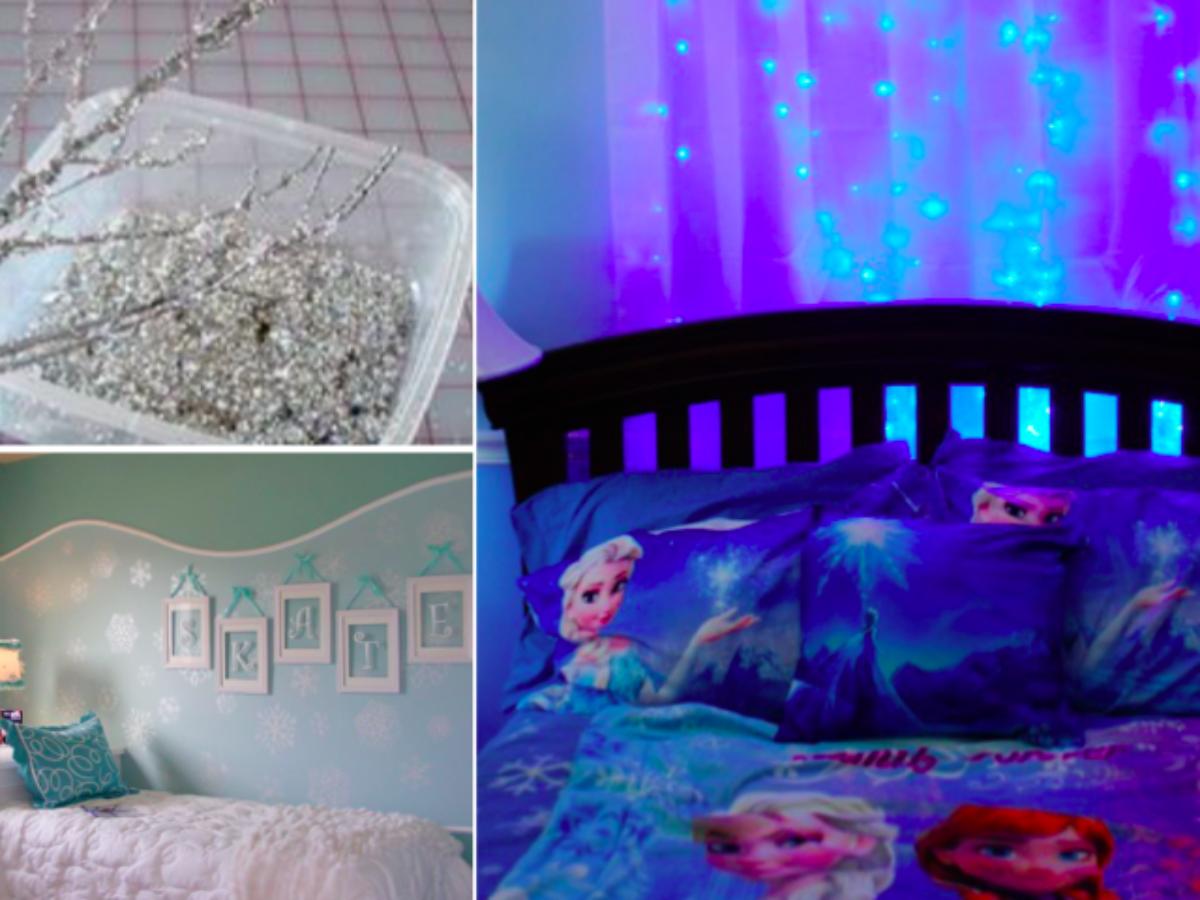 17 idées pour faire une chambre sur le thème de la Reine des Neiges