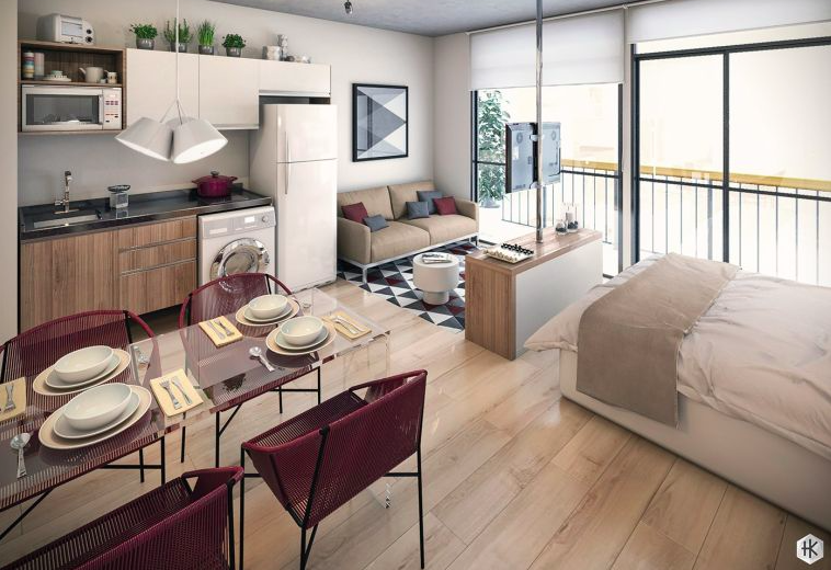 Aménager Un Petit Studio 25 idées pour bien aménager un petit appartement ou un studio