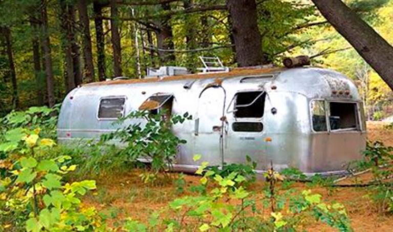 Avant apr s elle r nove et d core une vieille caravane pari r ussi - Decorer une caravane ...