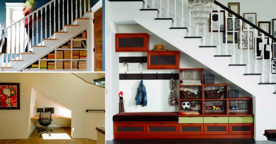 quarante id es brillantes pour am nager l 39 espace sous votre escalier des id es. Black Bedroom Furniture Sets. Home Design Ideas