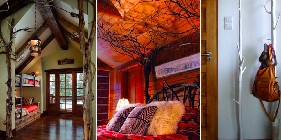 des branches d 39 arbres pour sublimer votre d coration d 39 int rieur 25 id es des id es. Black Bedroom Furniture Sets. Home Design Ideas