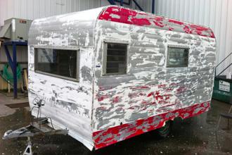 avant apr s une caravane transform e en petit cocon cosy des id es. Black Bedroom Furniture Sets. Home Design Ideas