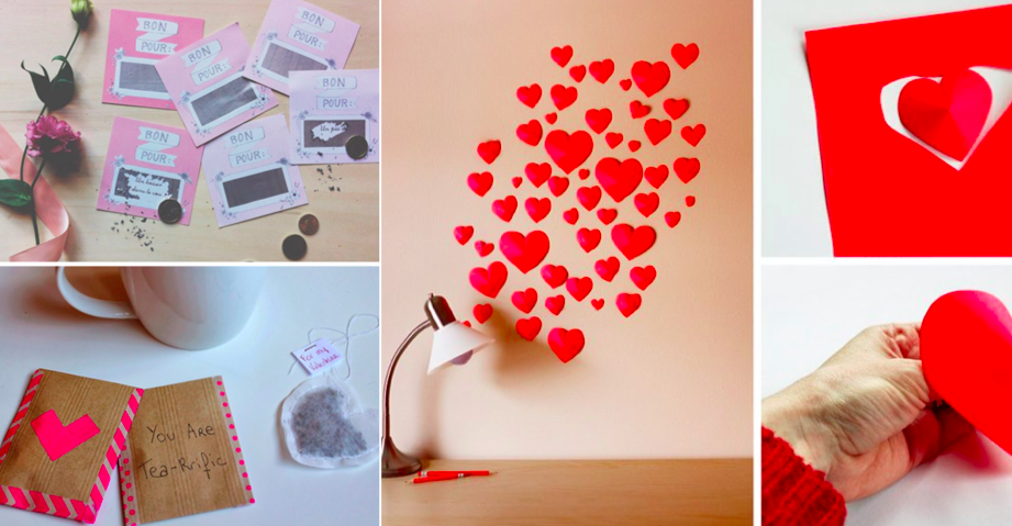 des id es de petits cadeaux de st valentin fabriquer soi. Black Bedroom Furniture Sets. Home Design Ideas
