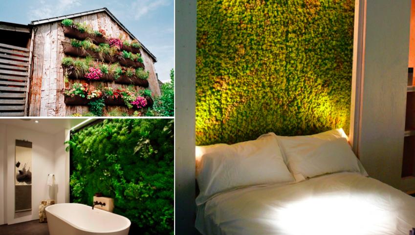 les 33 plus beaux jardins verticaux et murs v g taux des id es. Black Bedroom Furniture Sets. Home Design Ideas
