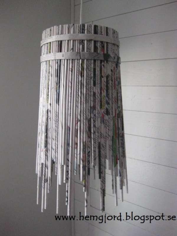 Bien connu 140 idées pour recycler le papier journal (ou le papier en général  LX02