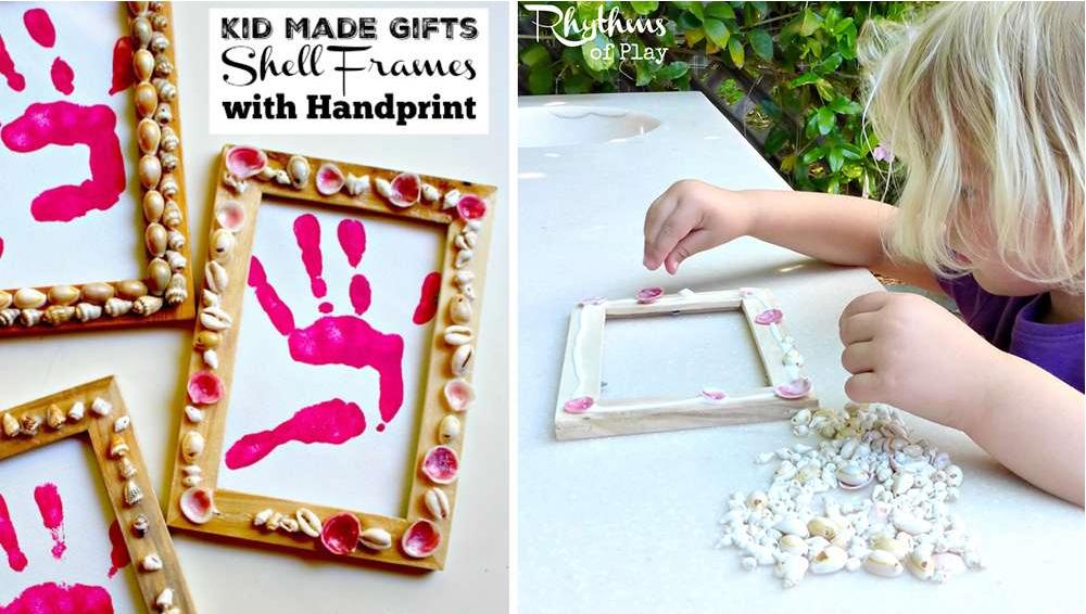 10 id es de cadeaux r aliser avec vos enfants pour la. Black Bedroom Furniture Sets. Home Design Ideas